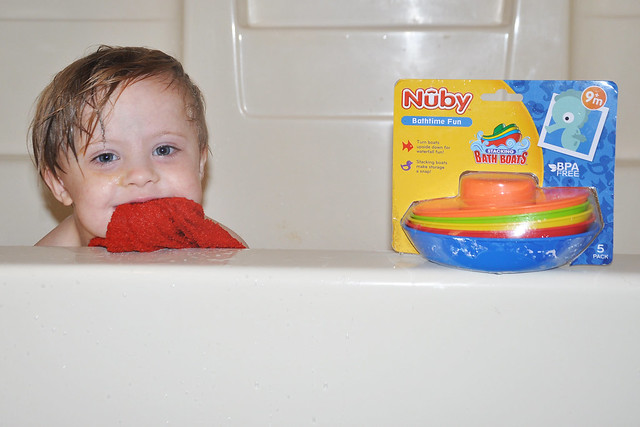 Nuby Stacking Bath Boats