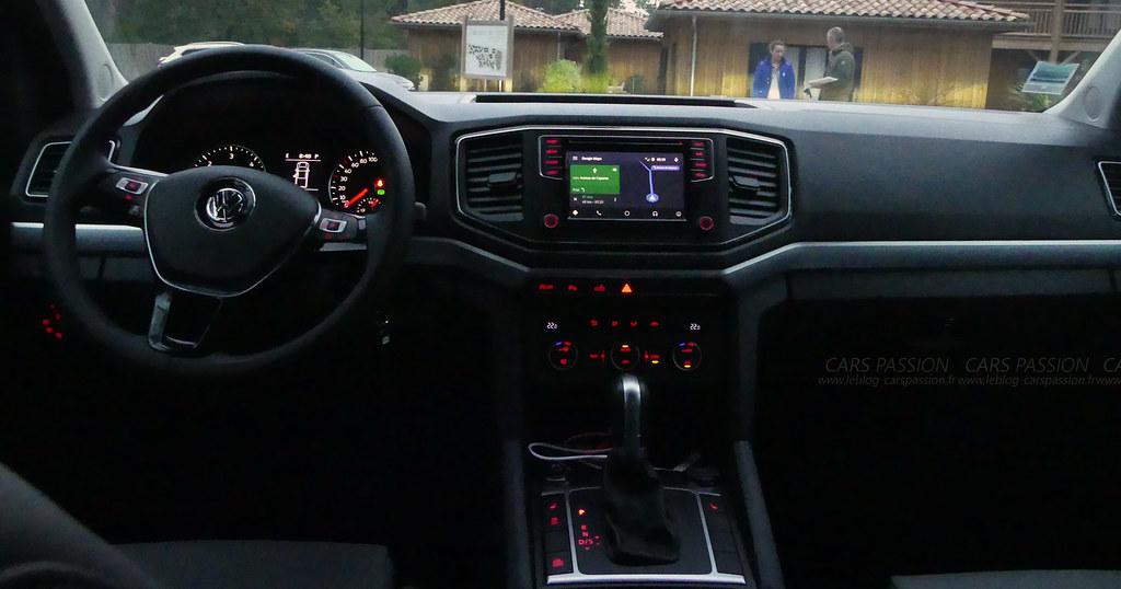 Volkswagen Amarok V6 TDi, essai auto par Stéphanie pour le bog auto Cars Passion