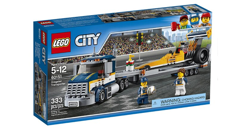 LEGO City Dragster Team (60151)