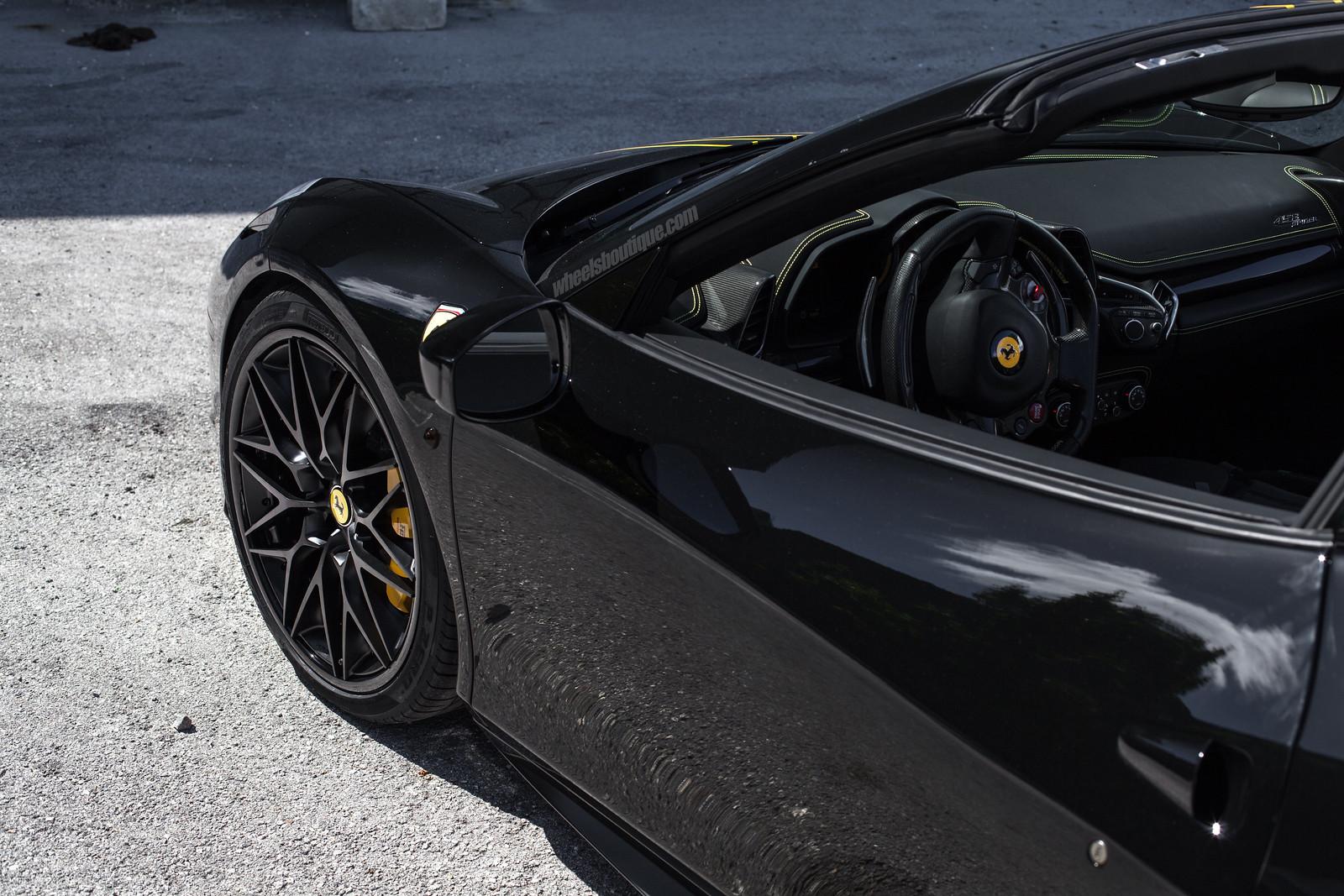 Bruce Wayne S 458 Spider Ferrari On Hre S200 S By Wheels Boutique