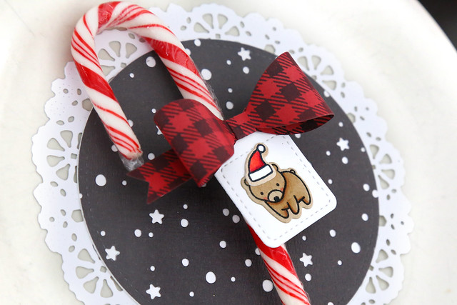 christmas morning place settings (with Lawn Fawn)