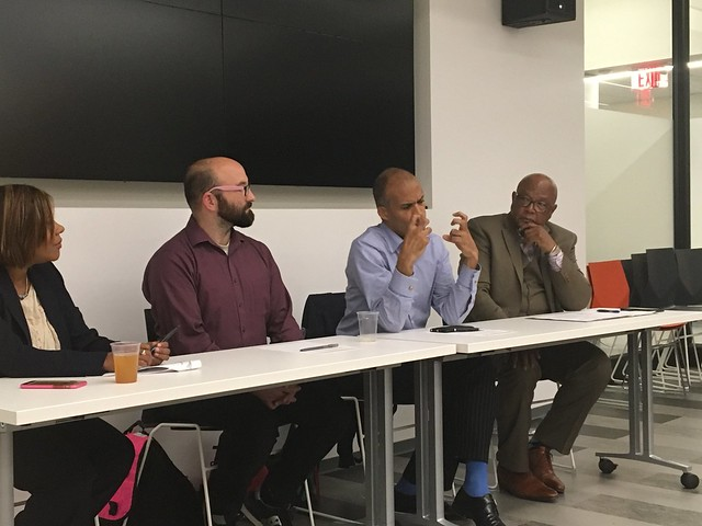Race, Planning & State Sponsored Violence Panelists left to right: Natalicia Tracy, Jason Lydon, Carl Williams & Ken Reeves (Moderator)