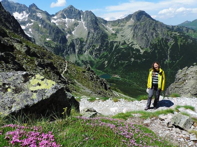 View of Green Lake from Velka Svistovka, Slovakia