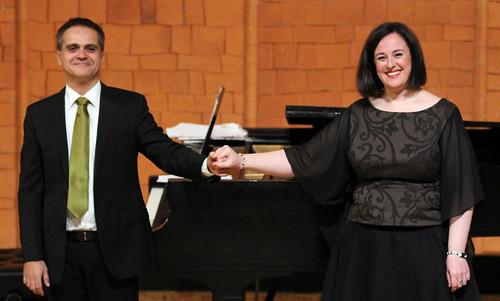 "MARTA MATHÉU, SOPRANO & JOSEP SURINYAC, PIANO - EL NOUCENTISME MUSICAL CATALÁN - AUDITORIO ""ÁNGEL BARJA"" 25.10.16"