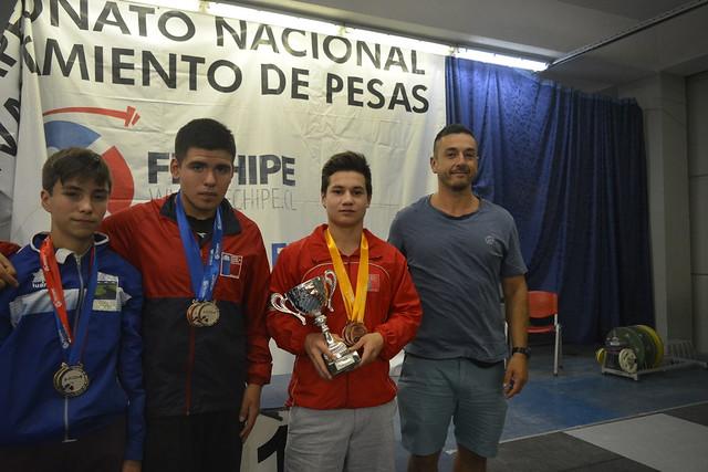 Campeonato Nacional Sub 15 Levantamiento de Pesas