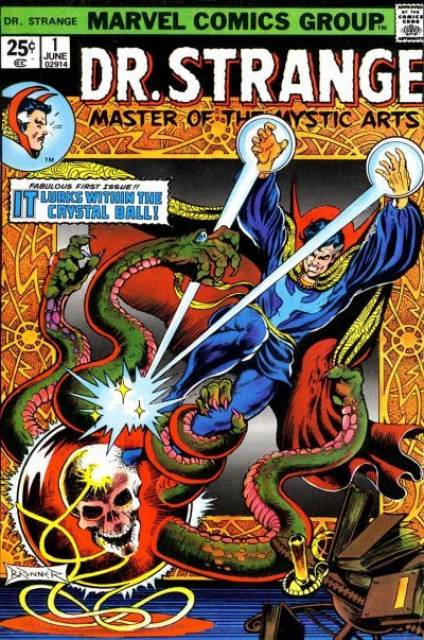 Doctor Strange - Comics Cover - 1