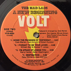 THE MAD LADS:A NEW BEGINNING(LABEL SIDE-B)