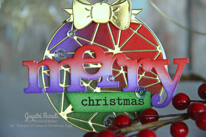 W&W Merry Christmas closeup