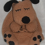 Puppy Nap Sack - Free Crochet Backpack Pattern