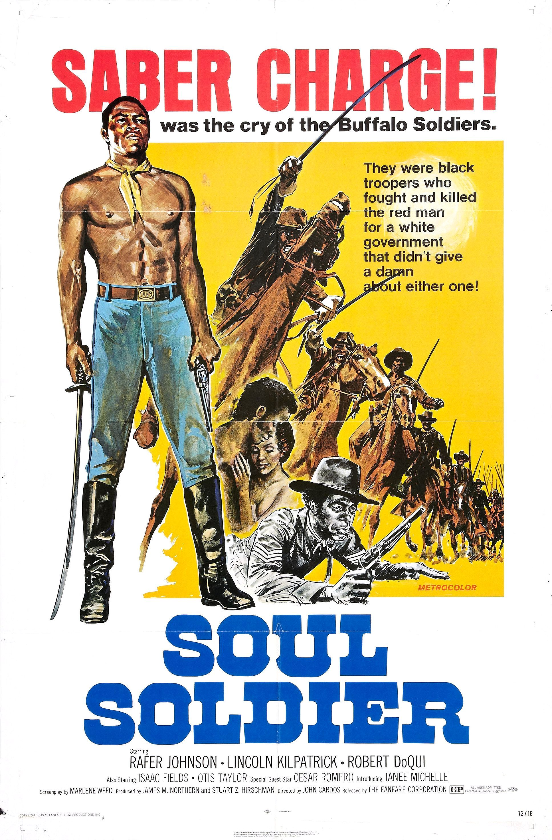Soul Soldier (aka The Red, White, and Black) (1970)