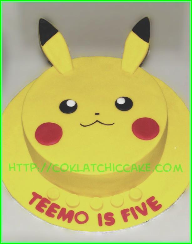 cake pikachu