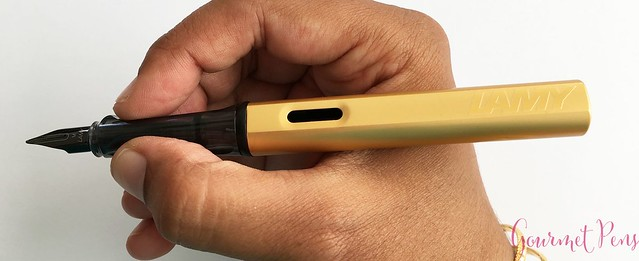 Review @Lamy LX Gold Fountain Pen @couronneducomte 17