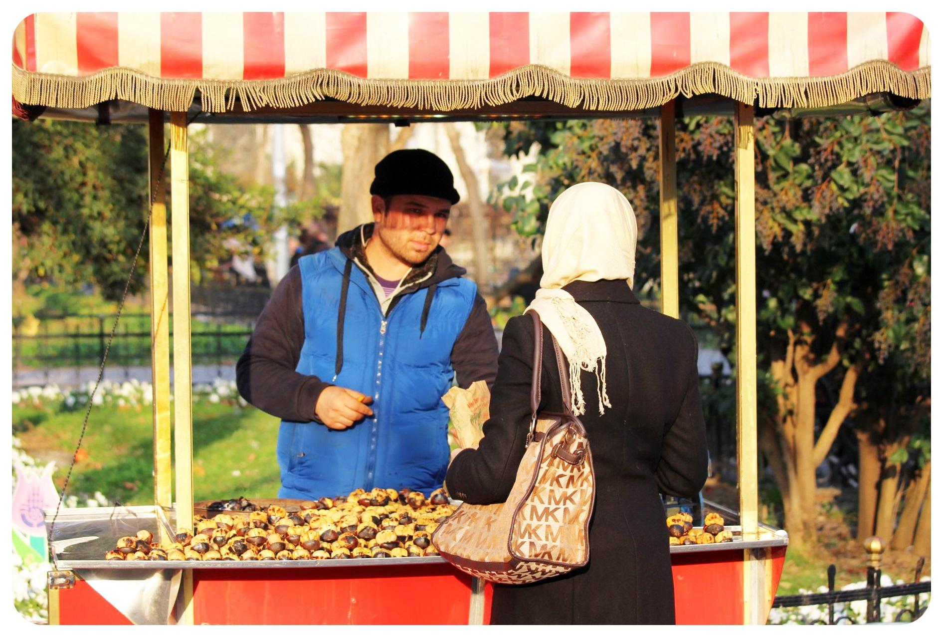 istanbul turkey street vendor