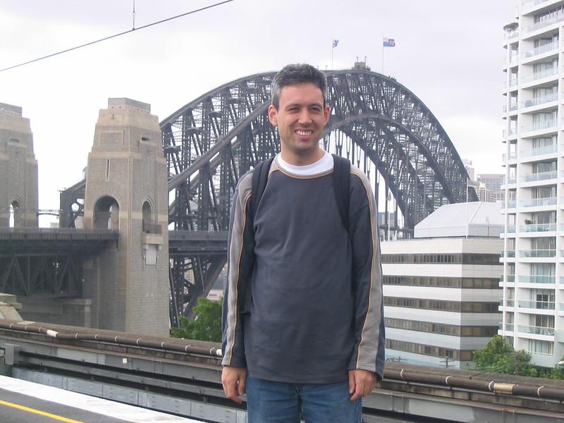 Daniel in Sydney, November 2006