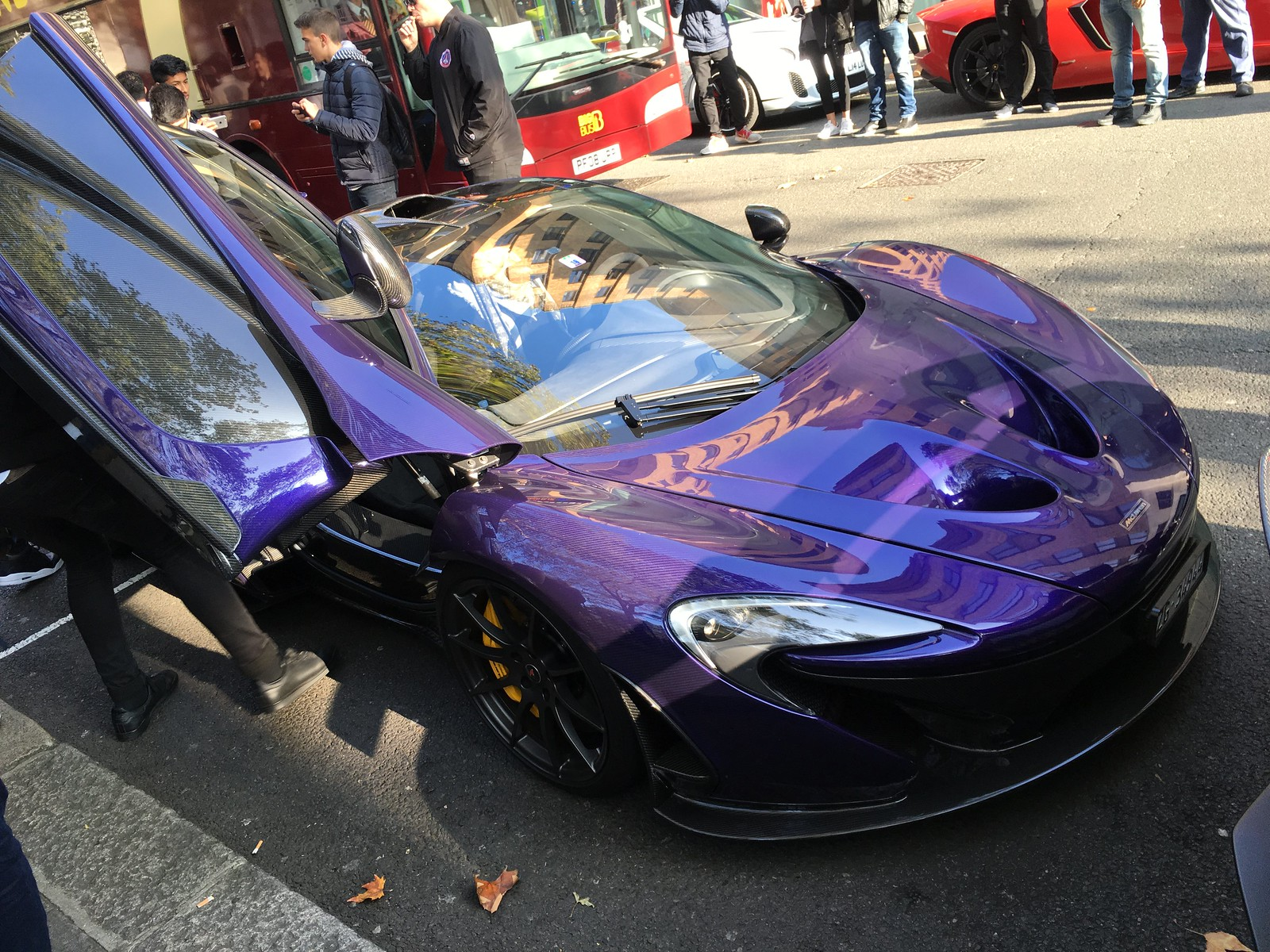 Supercar Sunday in Berkeley Square