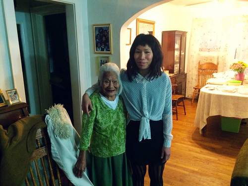 Ana and her 92 Year Old Grandma (Nov 26 2015)