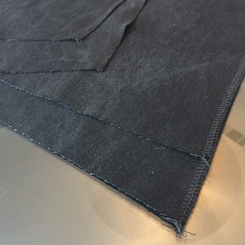 Denim Chanel-Inspired Jacket - In Progress