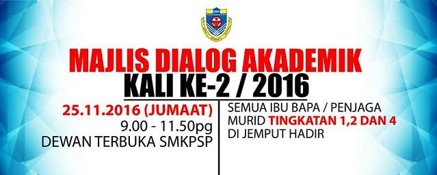 Majlis Dialog Akademik Akhir Tahun 2016