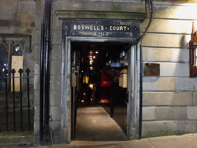 Boswell's Court at night 01
