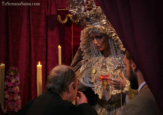 Besamanos a María Stma. de la Estrella