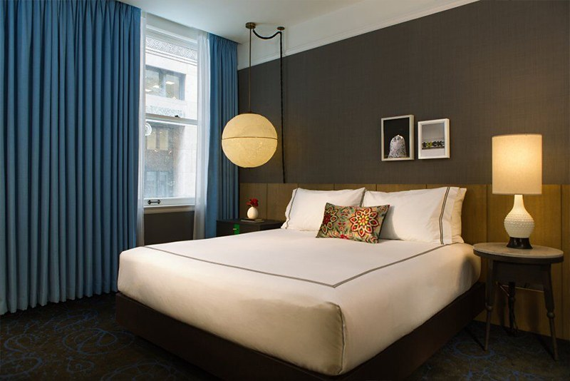 Guest room at The Gray