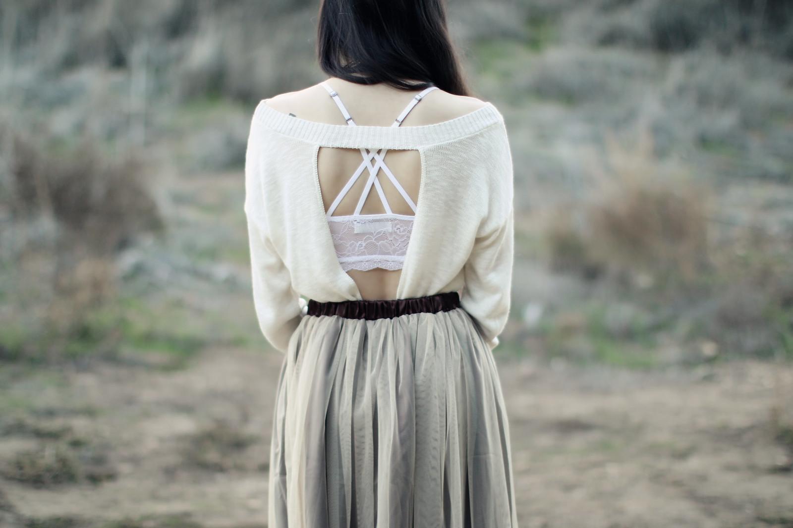 1349-ootd-fashion-chiffon-lace-skirt-openback-sweater-express-holiday2016-lookbook-korean-fashion-elizabeeetht-clothestoyouuu