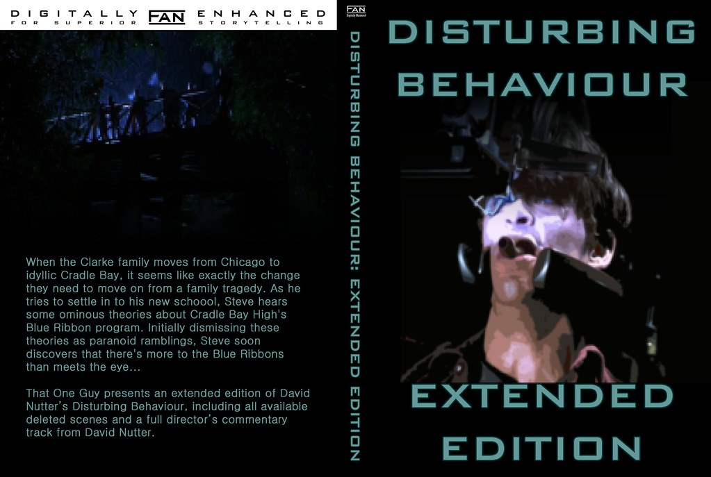 1-4 Single Amaray 3240 x 2175 (170 spine) - Disturbing Behaviour - Extended Edition