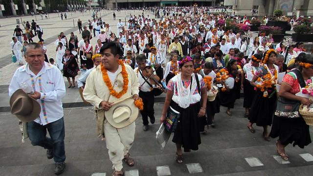 Se celebró la segunda misa en náhuatl en la Basílica de Guadalupe