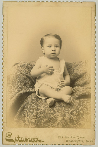Cabinet Card Portrait of a child