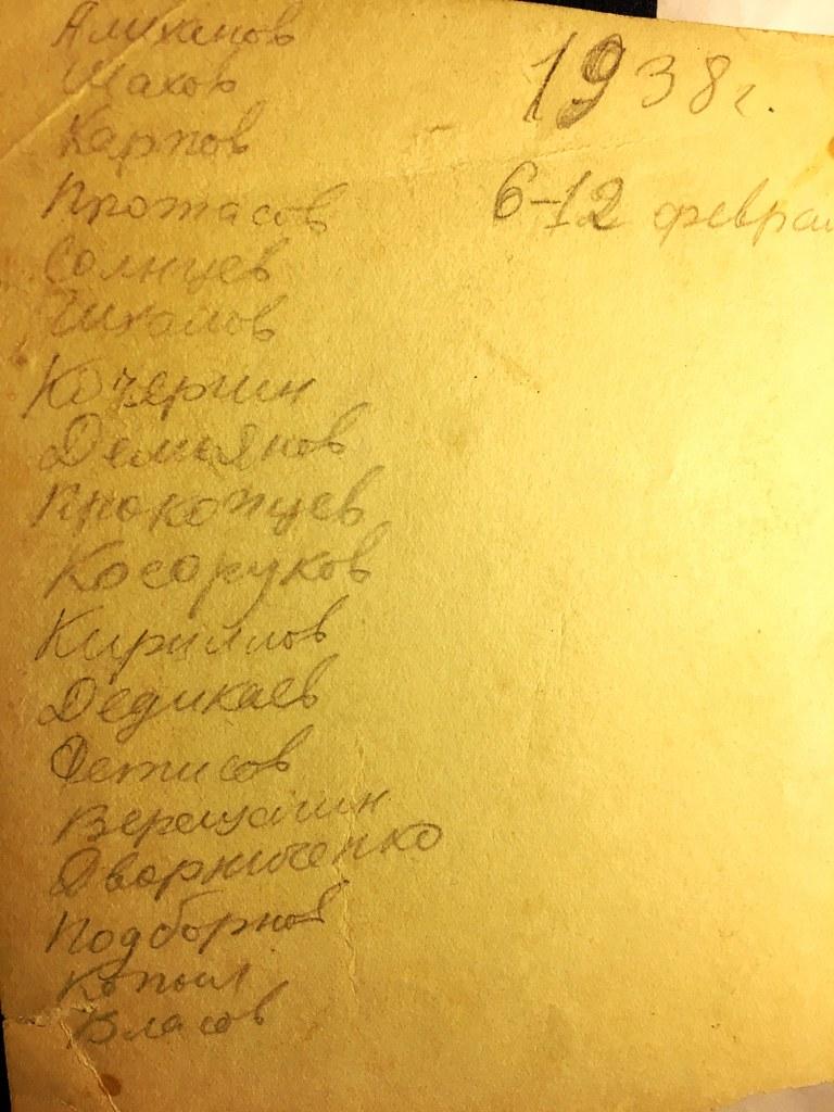 Списочный состав