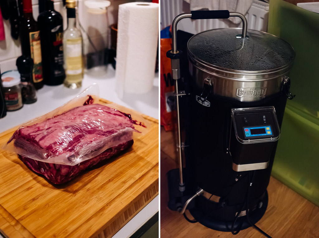 sous vide garen mit der brauanlage (grainfather)