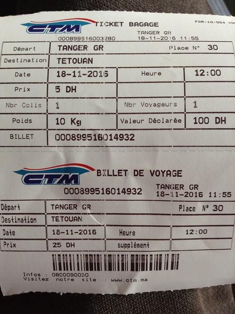 CTM Ticket