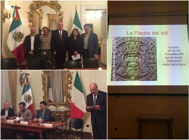 Conferencia de Federico Navarrete Linares en la Embajada de México en Roma