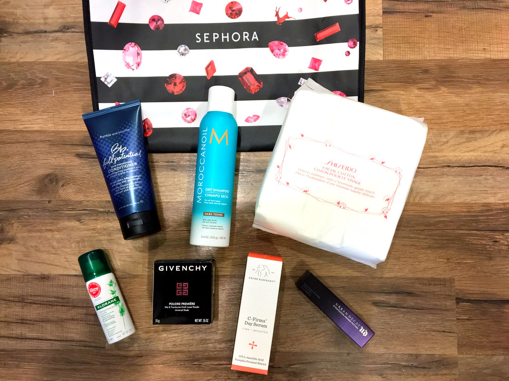 My haul from the Sephora VIB Rouge Sale