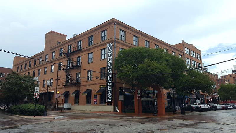 The redbrick warehouses of the Dallas West End Historic District  are now restaurants, shops, and businesses. This is the birthplace of Dallas and a great place to visit.