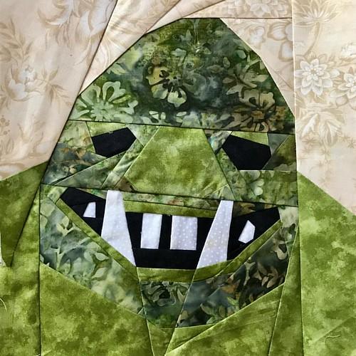 Fantastic Beast QAL Week 8- Ghoul #fandominstiches #fbqal