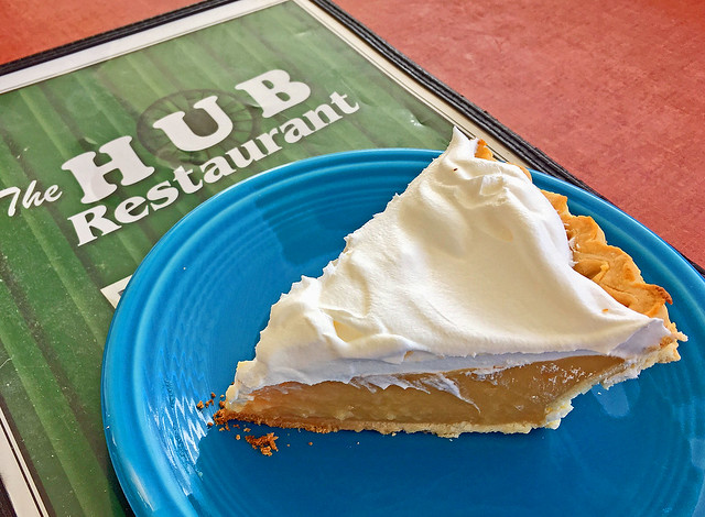 Butterscotch Pie - The Hub Restaurant