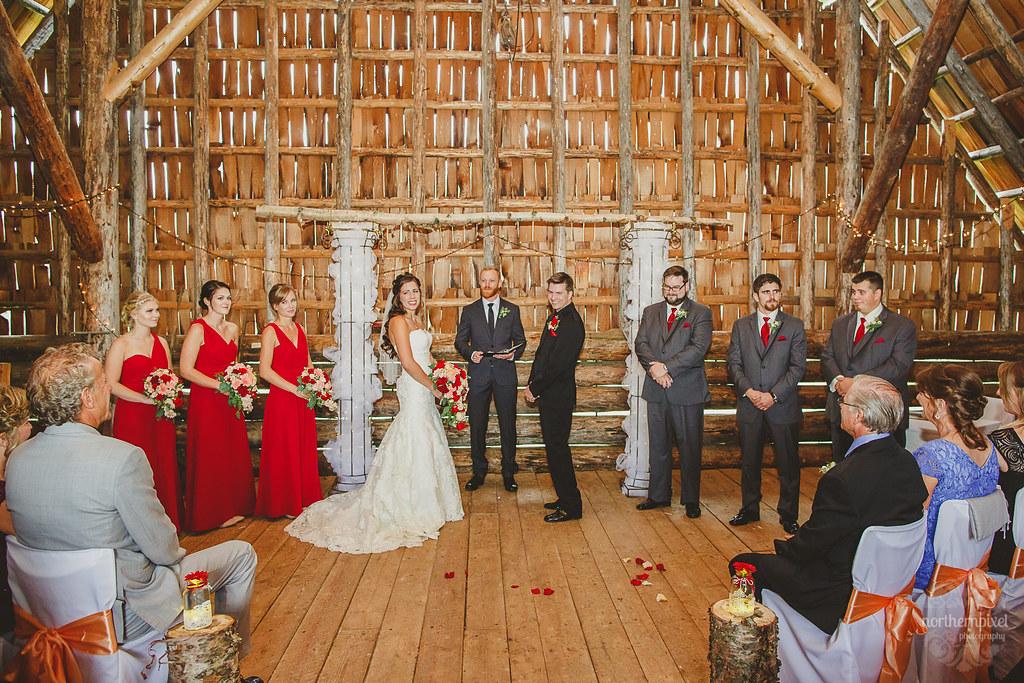 Huble Homestead Wedding Ceremony - Prince George BC