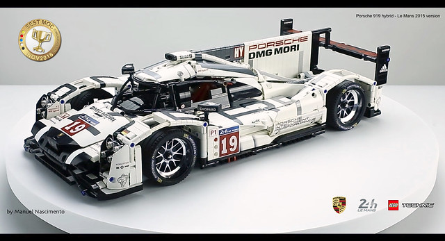 gorgeous fan built lego technic porsche 919 the 2015 le mans winner the brothers brick the. Black Bedroom Furniture Sets. Home Design Ideas