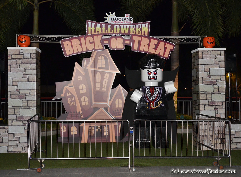 Halloween party night at Legoland -4