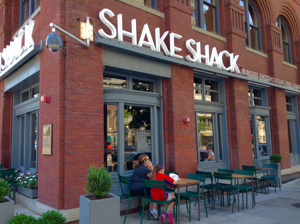 Shake Shack conveniently next door. Photo: Mike Mozart, CC.