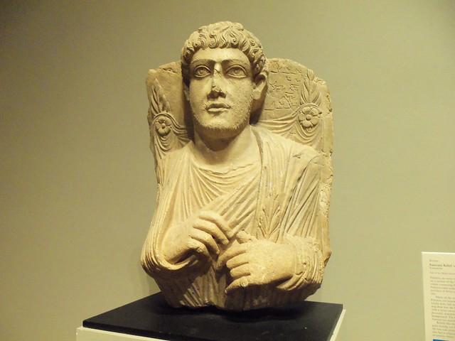 Roman funerary relief (2)