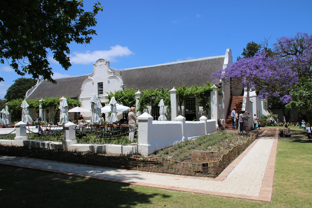 vergenoegd wine estate manor house