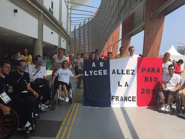 Jeux paralympiques 2016: les élèves du lycée Aiguerande se sont envolés pour Rio