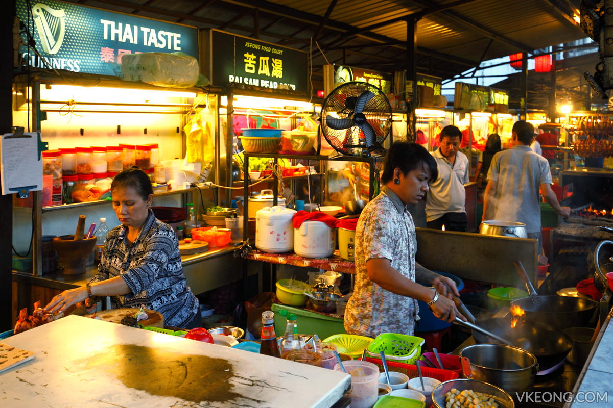 Thai Taste Stall Kepong Food Court