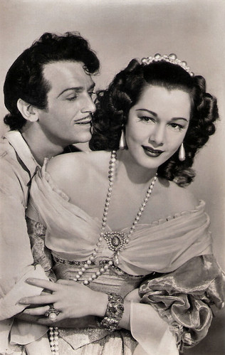 Maria Montez and Douglas Fairbanks Jr. in The Exile (1947)