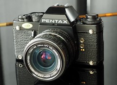 Pentax LX with Pentax-M 28-50mm Zoom Lens
