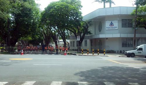 rua interditada