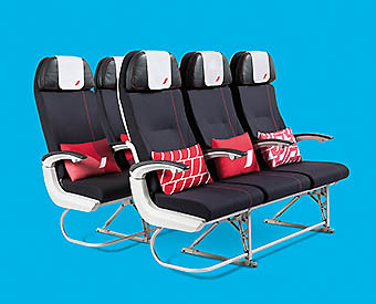 Air France Economy Seat Best (Air France)
