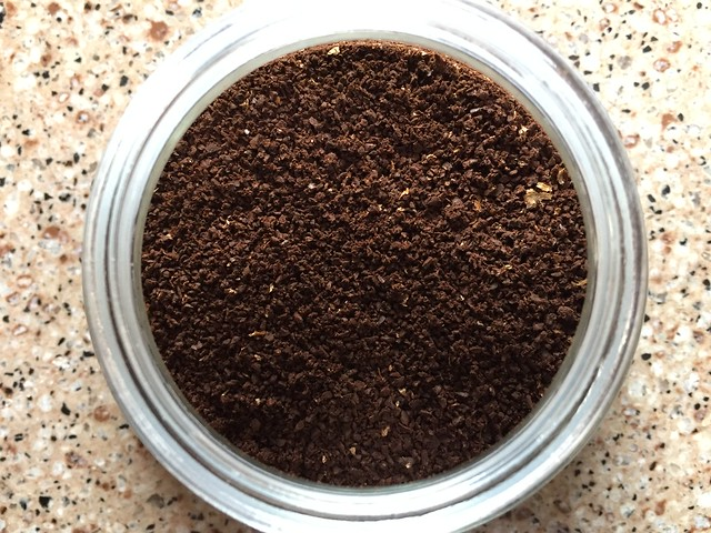 Consistently ground coffee